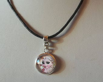 "Necklace cabochon ""Princess"" child"