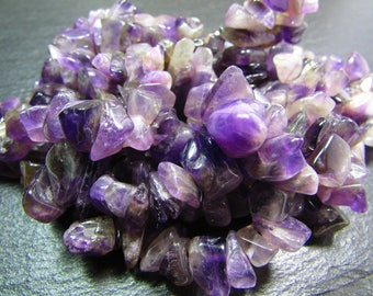 set of amethyst chips 8/10 mm