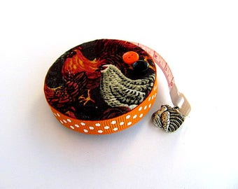Tape Measure  Flock of Chickens Retractable Measuring Tape
