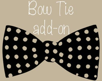 Bow Tie Add-on