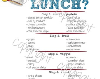 Did You Pack Your Lunch?