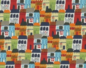 Town Houses in Red from Va Bene! by Dear Stella