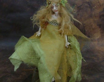 The Beckoning Spring Faery