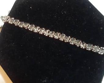 genuine swarovski crystal tennis bracelet