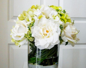 Real touch flowers centerpiece table centerpiece wedding real touch flowers centerpiece table centerpiece wedding centerpiece silk flowers in home decor junglespirit Images