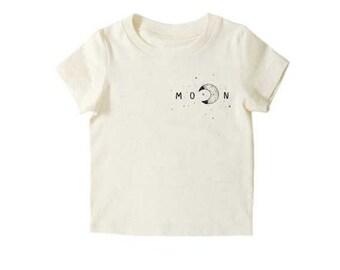 Moon Shirt, Hipster Toddler, Modern Clothing, Organic Kids Clothes, Toddler Fashion, Hipster Kids Clothes, Toddler Shirts, Pocket Tee