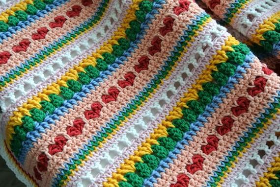 Crochet pattern baby blanket heart blanket crochet blanket crochet pattern baby blanket heart blanket crochet blanket pattern bedspread crochet afghan strape blanket pdf crochet patterns dt1010fo
