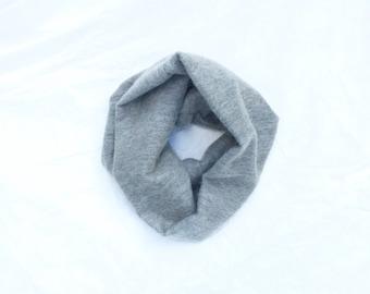 gray mohair cowl