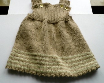 Baby dress, baby, dress, tunic, tunic, trousers, knit, alpaca wool