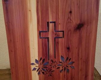 Handmade Large Bible Box (Cedar)