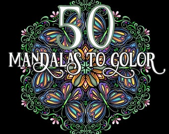 Big Abstract Coloring Pages : Adult coloring book etsy