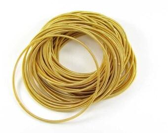 2 bracelets Cannetille Fine gold tone Metal - 19 cm