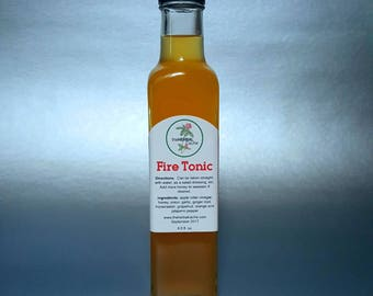 Fire Tonic - Citrus Fire Tonic for Immune Health, Circulation, Digestion and Sinus Congestion
