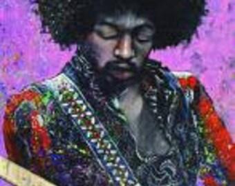 """Jimi Hendrix - 24x36"""" Poster"""