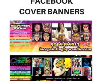 Facebook Cover Banner Design (PDF file)