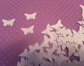Light Lavender Mini Butterfly Confetti, Decoration, Cutout, Die Cuts