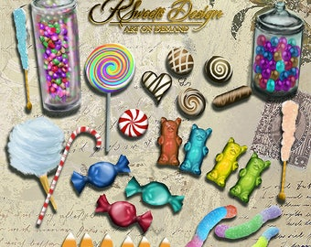 Candy Clipart Collection, Candy Clipart