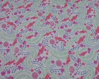 Tana lawn fabric from Liberty of London, Delilah