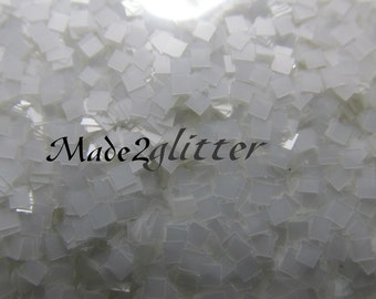 Small Glitter squares in 2mm for nail art and crafts