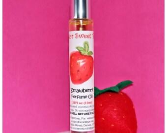 Strawberry Handmade Perfume Oil Roll-On
