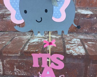 Elephant (Its a Girl or Its a Boy) Cutouts