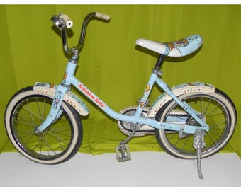 UK Free Postage - Rainbow Brite Vintage 80s Bike Cartoon Memorabilia Collectors Kids Children Bicycle Retro