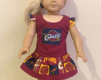 "18"" Doll or American Girl Doll Dress-Cavaliers"
