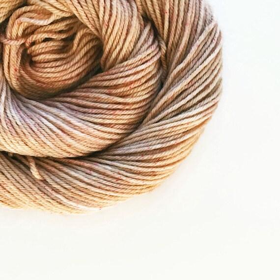 CAPPUCCINO hand dyed yarn