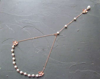 Rose gold pearls Etsy