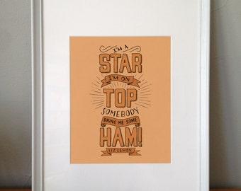 Somebody Bring Me Some Ham | Liz Lemon Quote