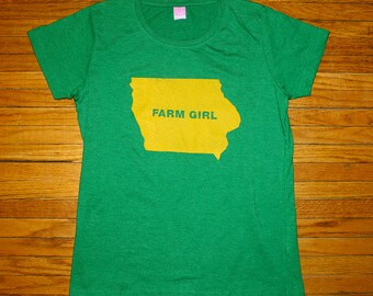 Iowa Farm Girl T-Shirt