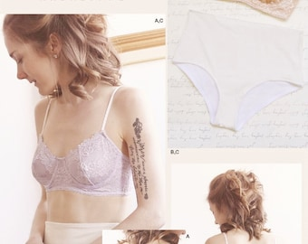 Underwire Bra and Panties Pattern, Simplicity Sewing Pattern 8229