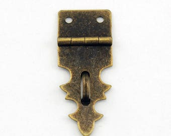 Antique Hasp - Hasp Lock - Rustic Style Hasp - Old Fashion Hasp - Box Hasp - Metal Hasp