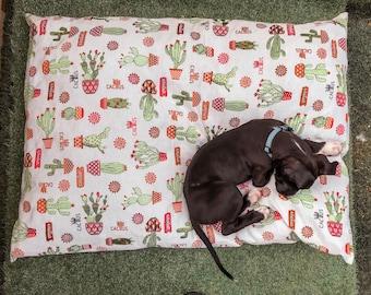 Cactus Fiesta Pet Bed