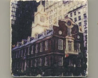 Old State House in Boston -  Original Coaster