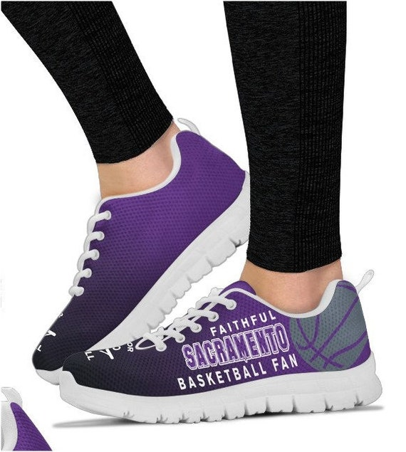 Shoes PP Sneakers Walking Sacramento HB Basketball BK Fan Kings 027A qc7H6X