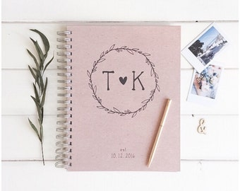 Photo Guestbook Wedding Guestbook. Photo Booth Wedding Book. Rustic Wedding Photobooth Book Album Guestbook. Photo Album Wedding