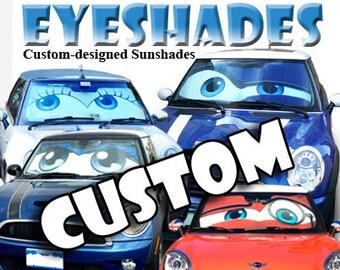 Eyeshades - Custom eyes for your car