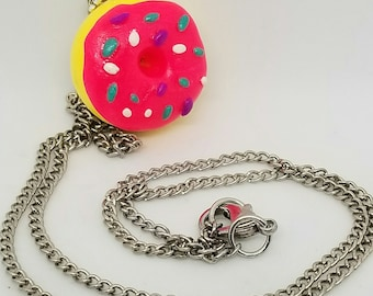 The Simpson Donut Necklace