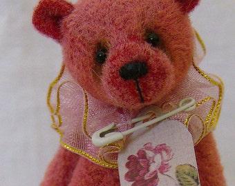 Lucy Rose Miniature Teddy Bear E-pattern