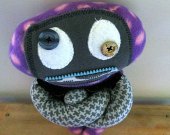 Stuffed / Keepsake monster dolls, soft and cuddly for all ages.