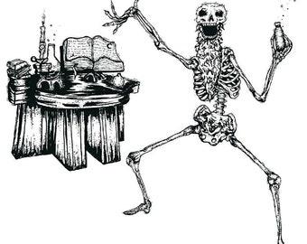 Brotato Alchemist Skeleton