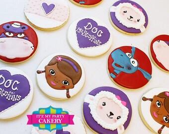 Doc McStuffins Cookies - 1 Dozen