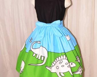 Color Me Dinosaur - sizes 2 -14 girls