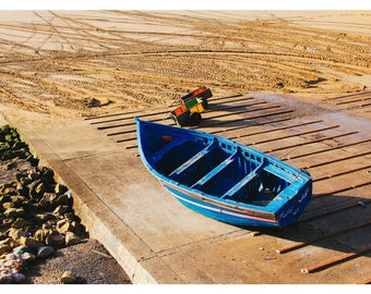 The blue boat -  Morocco