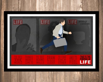 """INSTANT DOWNLOAD - The Secret Life of Walter Mitty """"LIFE"""" Print"""