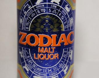 Zodiac Malt Liquor beer can