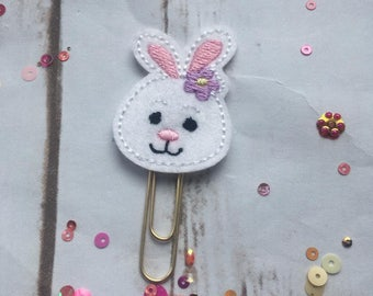 Easter Bunny Planner Paperclip, planner accessories, rabbit planner clip, rabbit paperclip, Easter planner paperclip, Spring planner clip