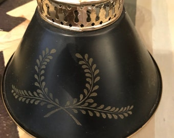 Vintage Metal Small Lampshade