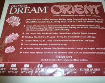 Quilters Dream Orient Batting Yardage